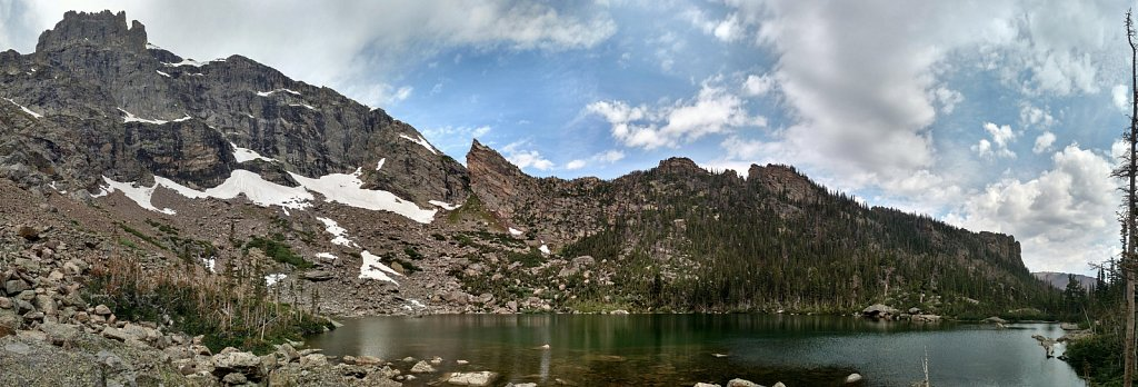 Loomis Lake pano