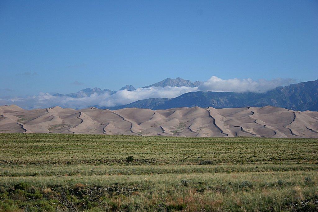 Dunes and Cleveland Peak