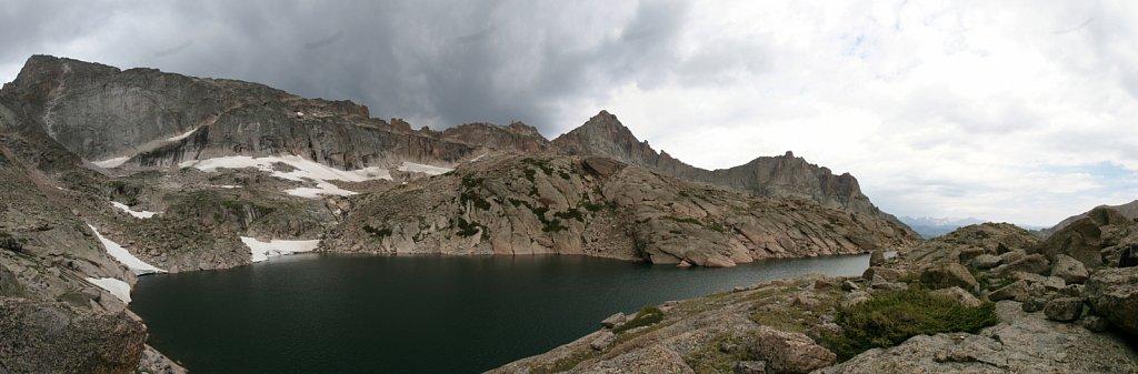Frozen Lake pano