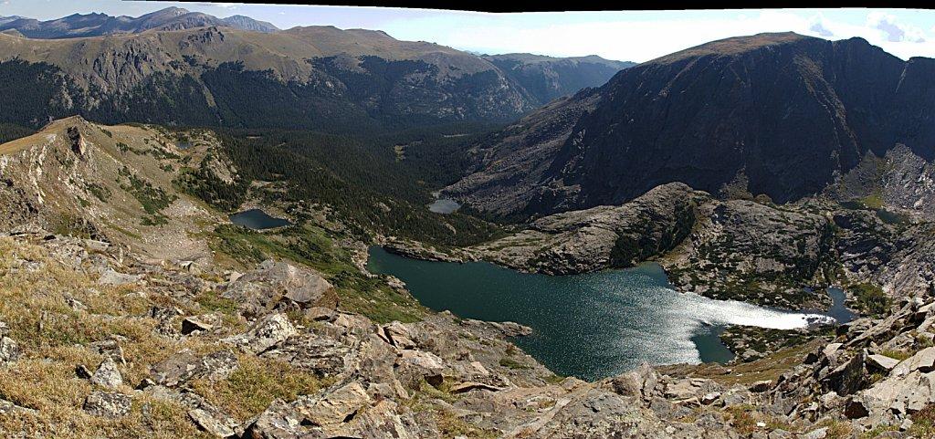 Gorge Lakes pano