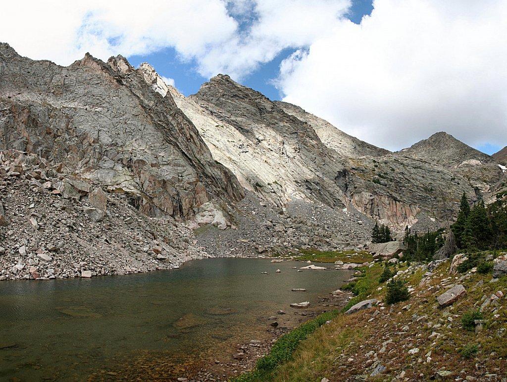 Ypsilon Mtn and Upper Fay Lake