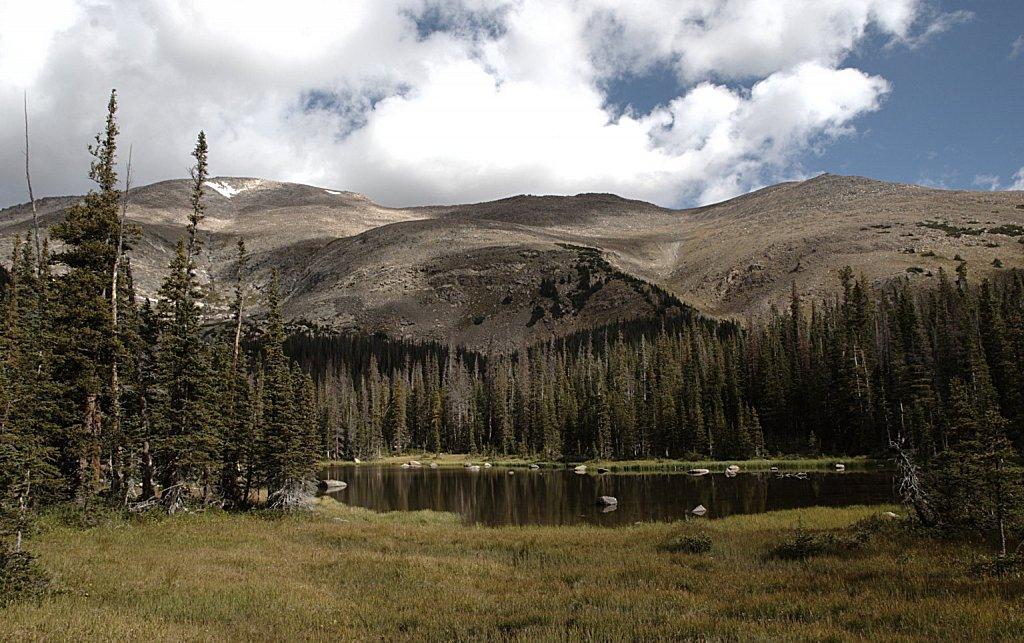 Fairchild Mtn and Lower Fay Lake