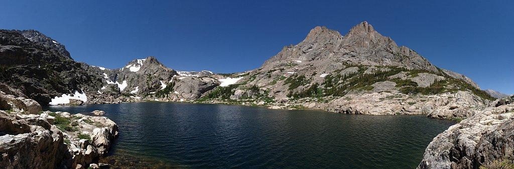 Bluebird Lake pano