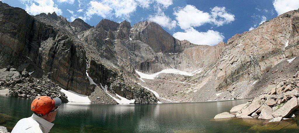 Chasm Lake pano