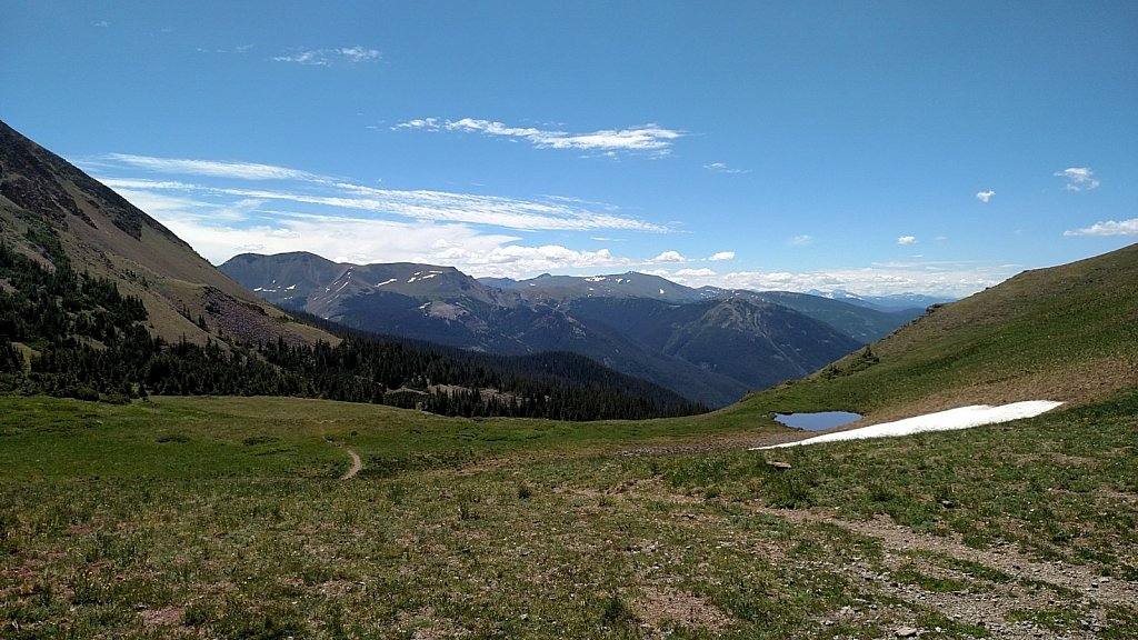 Thunder Pass, Looking Southeast