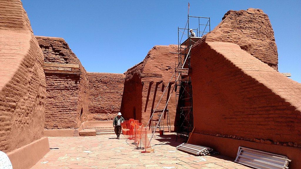 Pecos Pueblo Mission Church Restoration