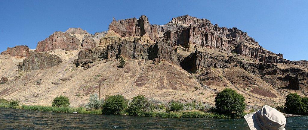 Canyon Wall Pano