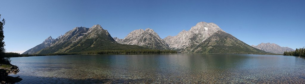 Leigh Lake Panorama