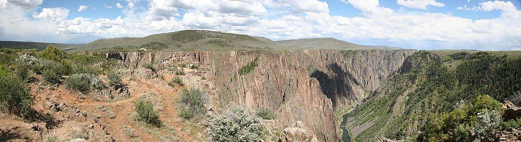 Black Canyon Pano
