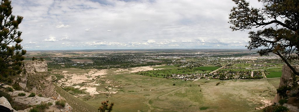 The Tri-Cities of Scottsbluff, Terrytown, and Gering