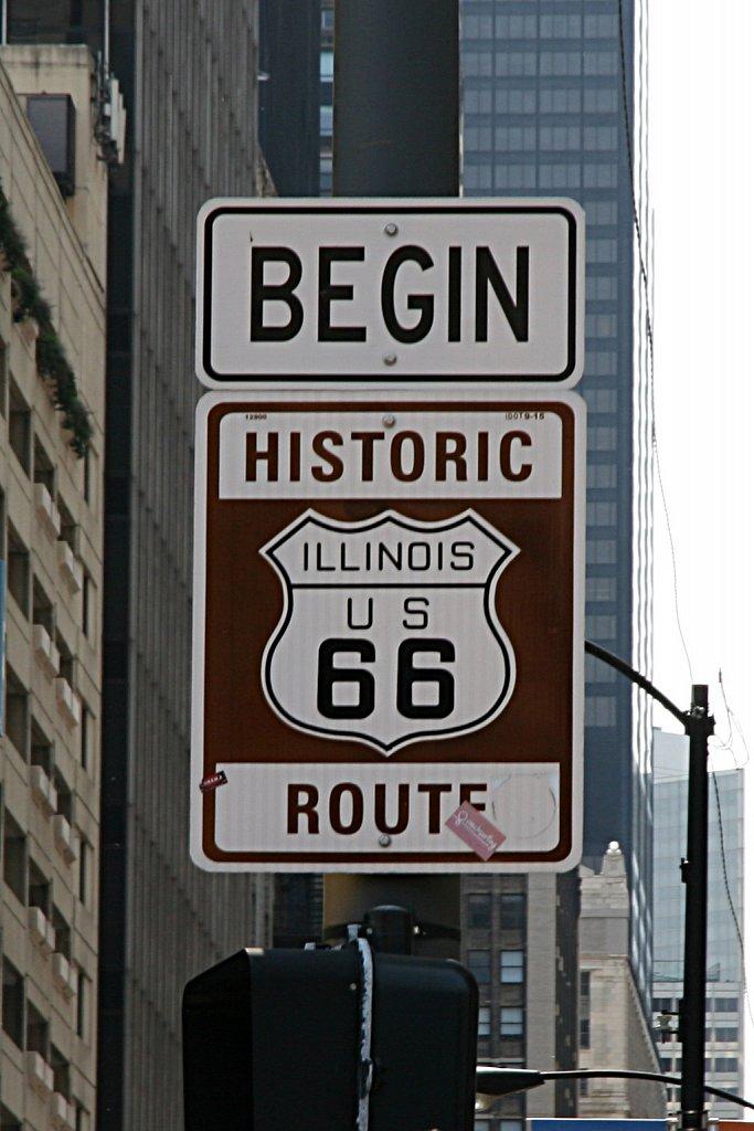 Begin Historic Route 66