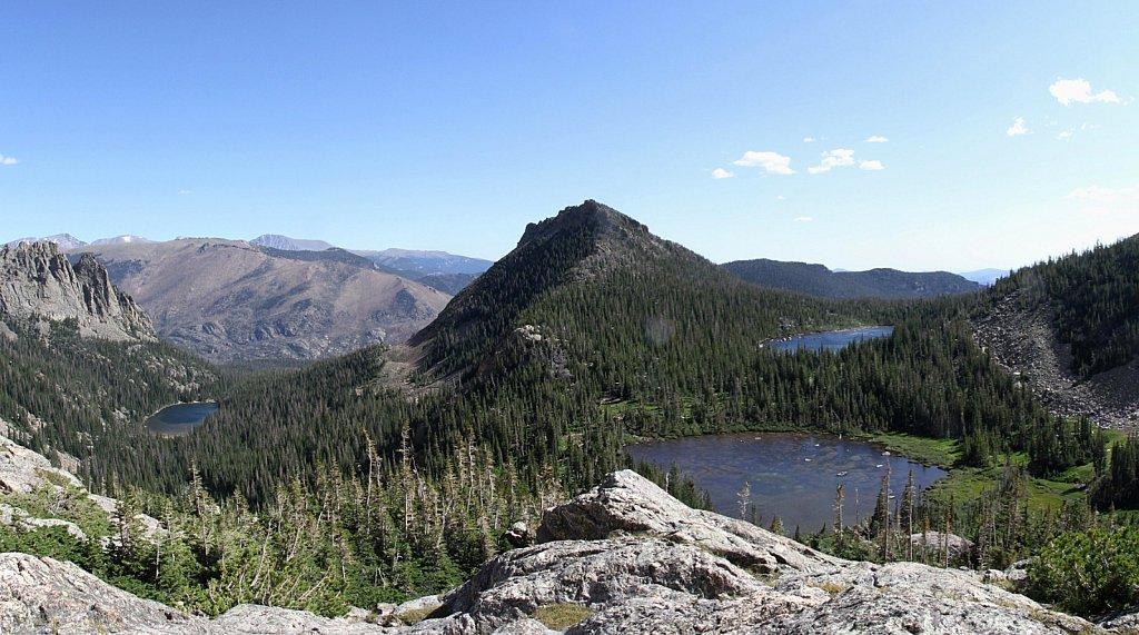 Three Lakes View