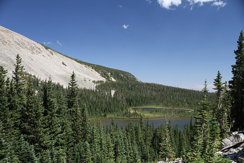 From the trail to Blue Lake